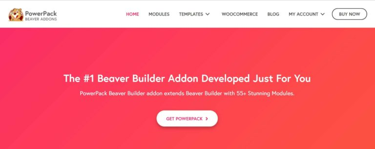 PowerPack addon for beaver builder