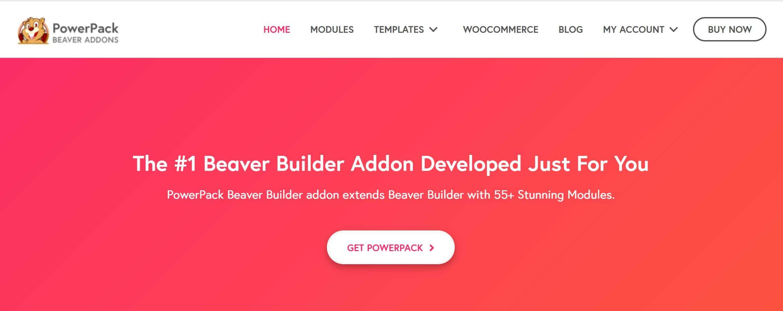 PowerPack addon for beaver builder