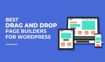 Best Drag and Drop Page Builders for WordPress, featured image
