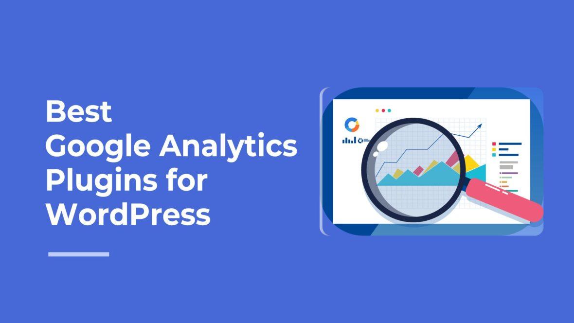 Best Google Analytics Plugins for WordPress, featured image