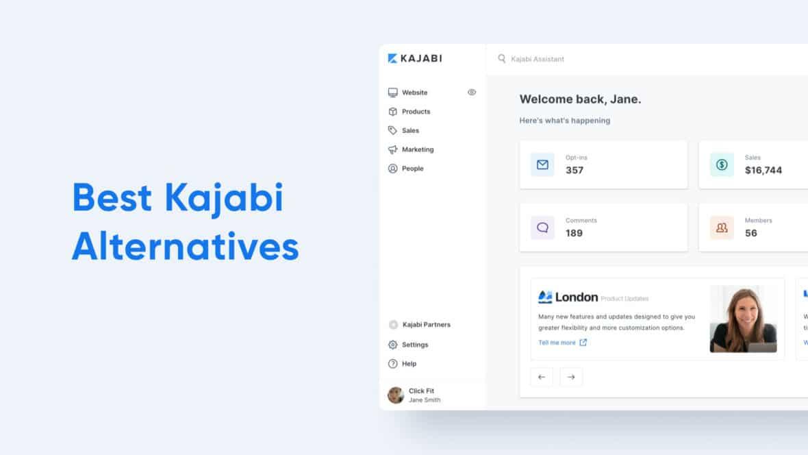 Best Kajabi Alternatives, featured image