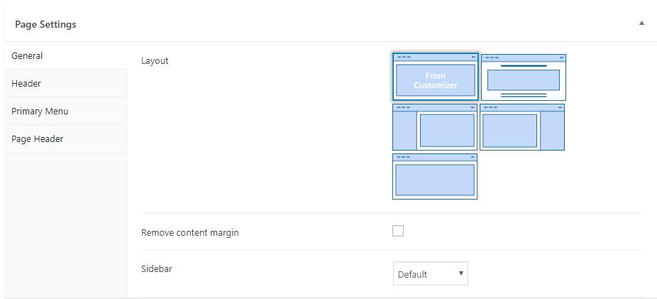 Zakra page controls