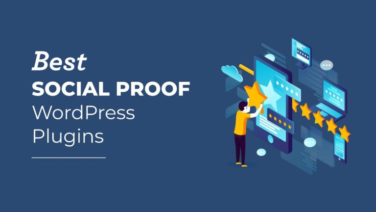 Best Social Proof WordPress Plugins, featured image