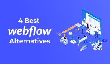 Best Webflow Alternatives, featured image