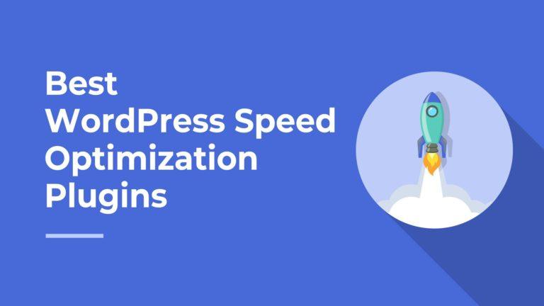 Best WordPress Speed Optimization Plugins, featured image