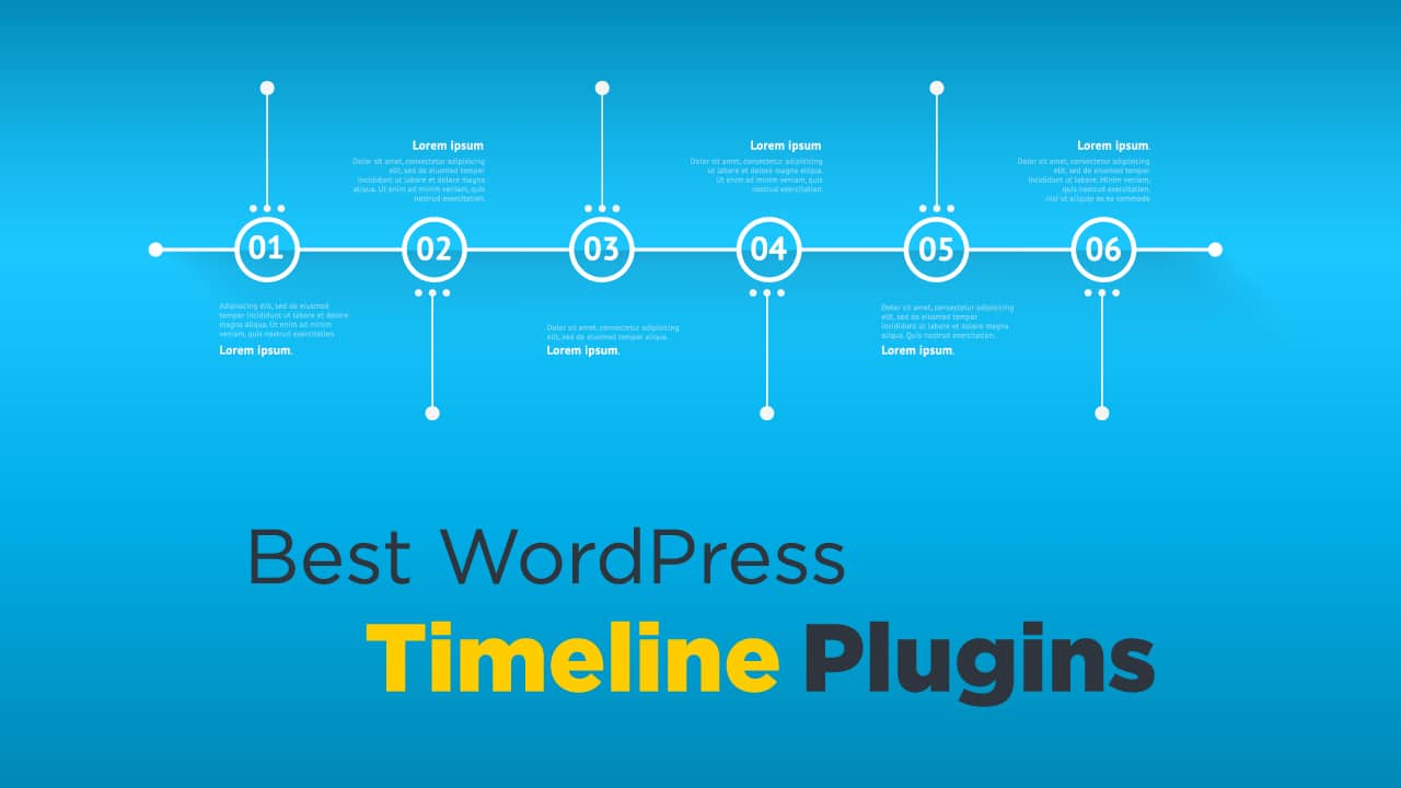 4 Best WordPress Timeline Plugins 2021 - aThemes