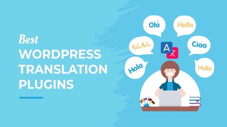 Best WordPress Translation Plugins, featured image