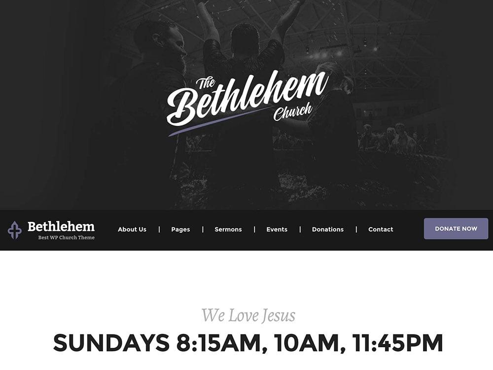 bethlehem-church-wp-theme