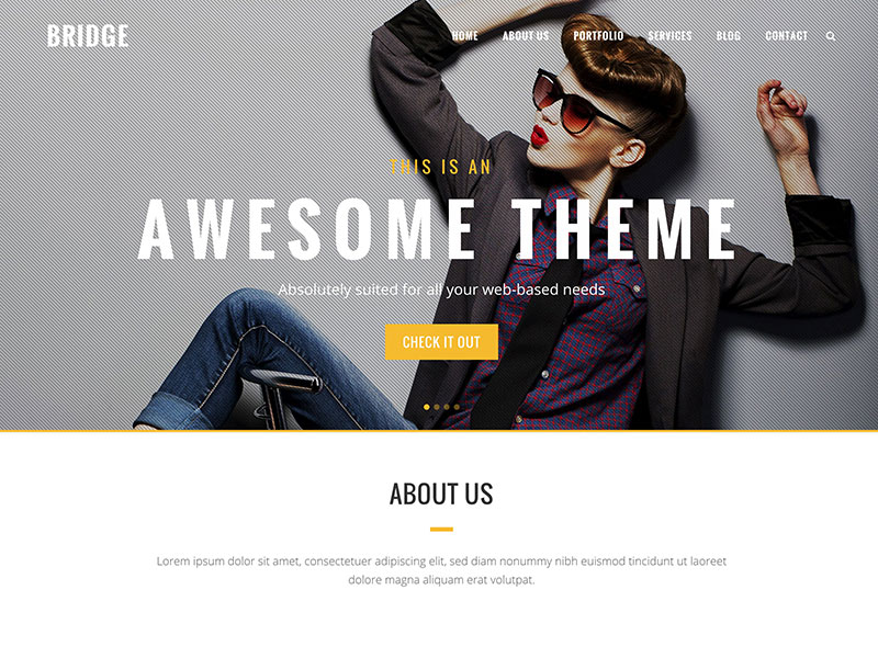 bridge-creative-wordpress-theme