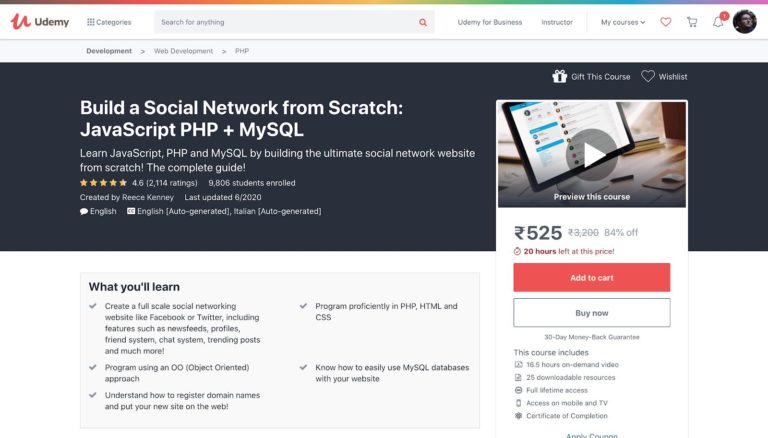 Build a Social Network with PHP