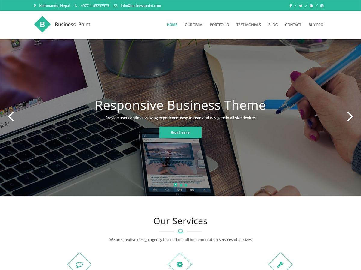 best free wordpress theme for company website