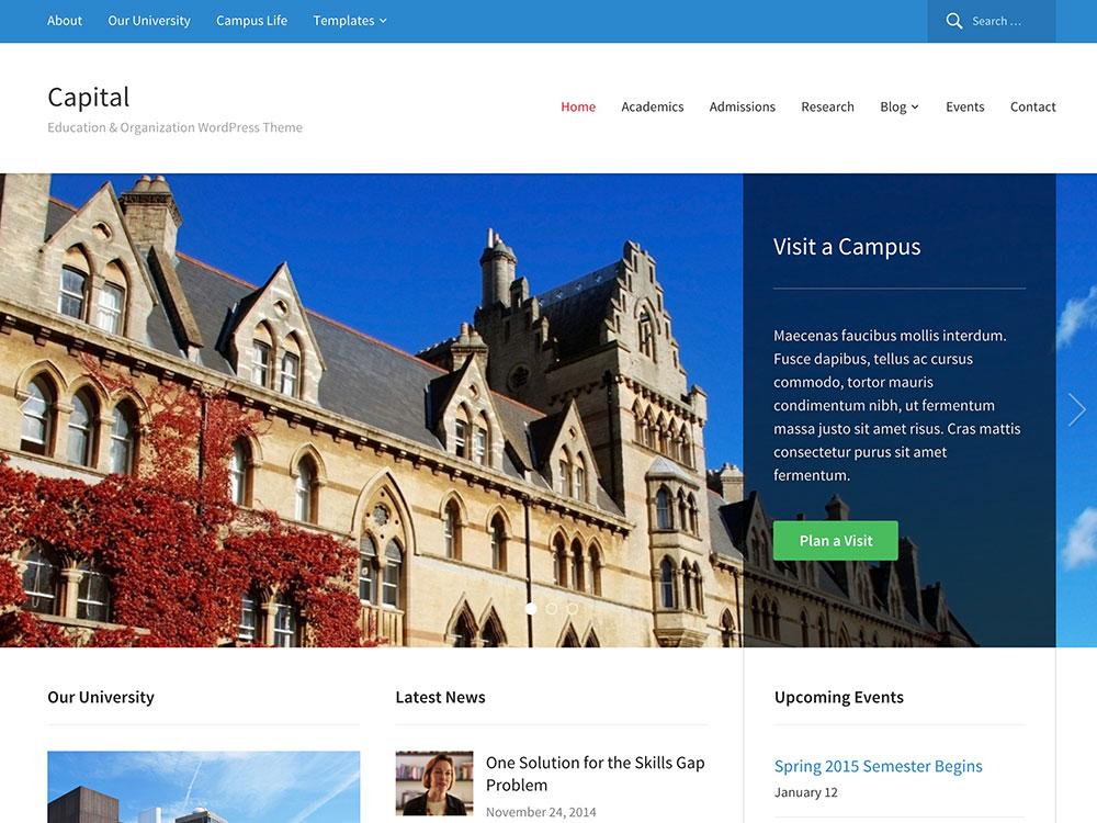 capital-wordpress-theme