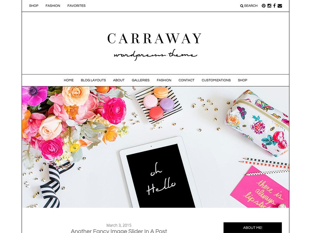 carraway-wordpress-theme