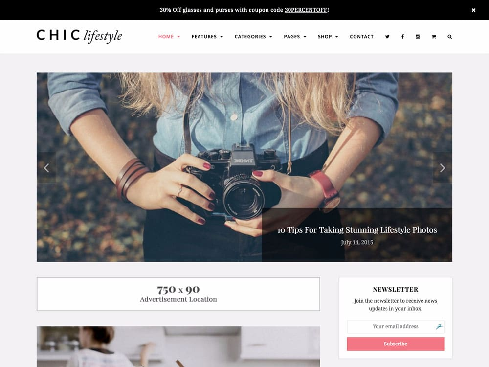 chic-blog-wordpress-theme