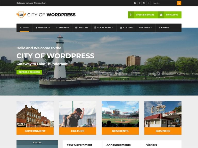 10 Best Government Wordpress Themes 2021 Athemes