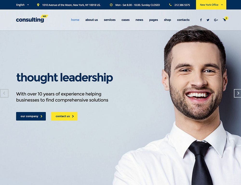 consulting-theme