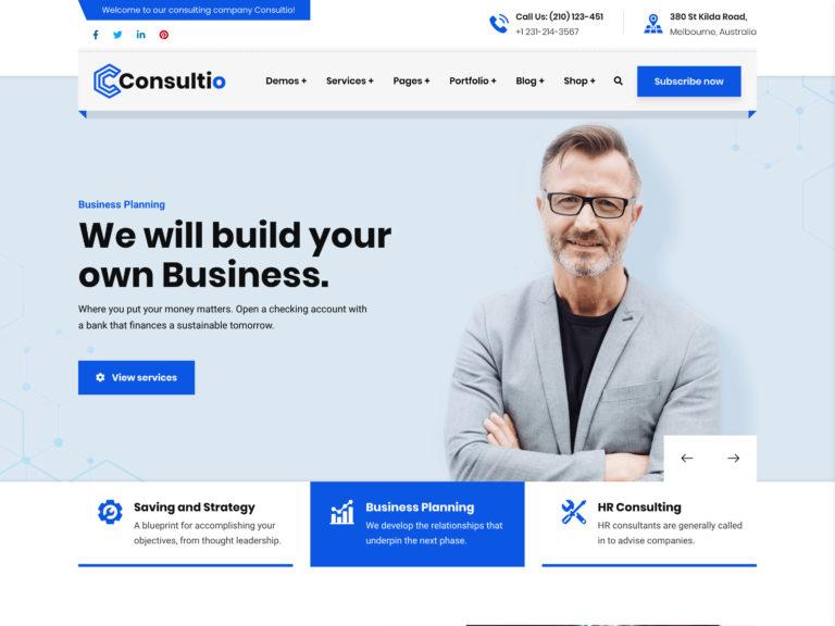 35+ Best Business WordPress Themes 2021 - aThemes