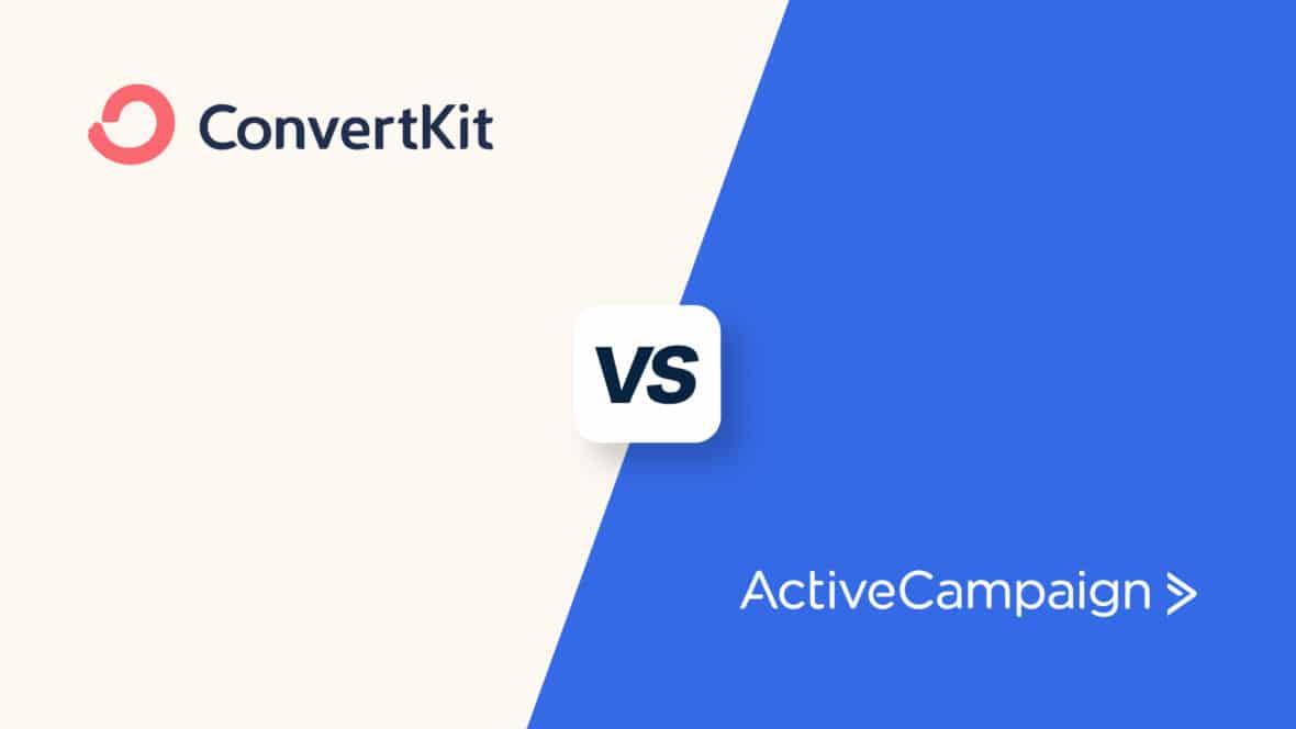 ConvertKit vs ActiveCampaign, featured image