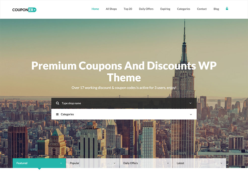 couponer-theme
