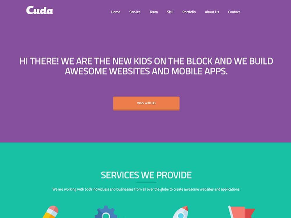 cuda-wordpress-theme