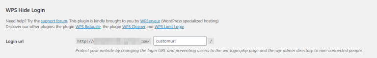Setting a custom URL for your website.