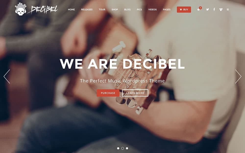 decibel-music-wordpress-theme