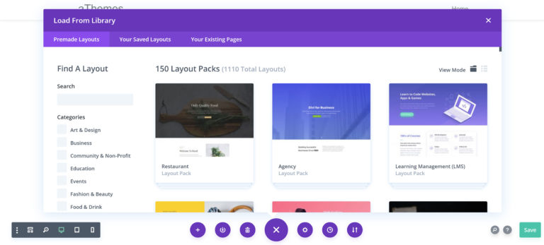 Divi Builder Layout Pack