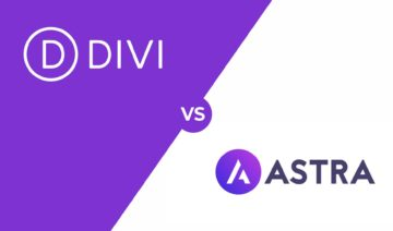 Divi vs Astra, featured image