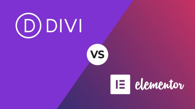 Divi vs Elementor, featured image