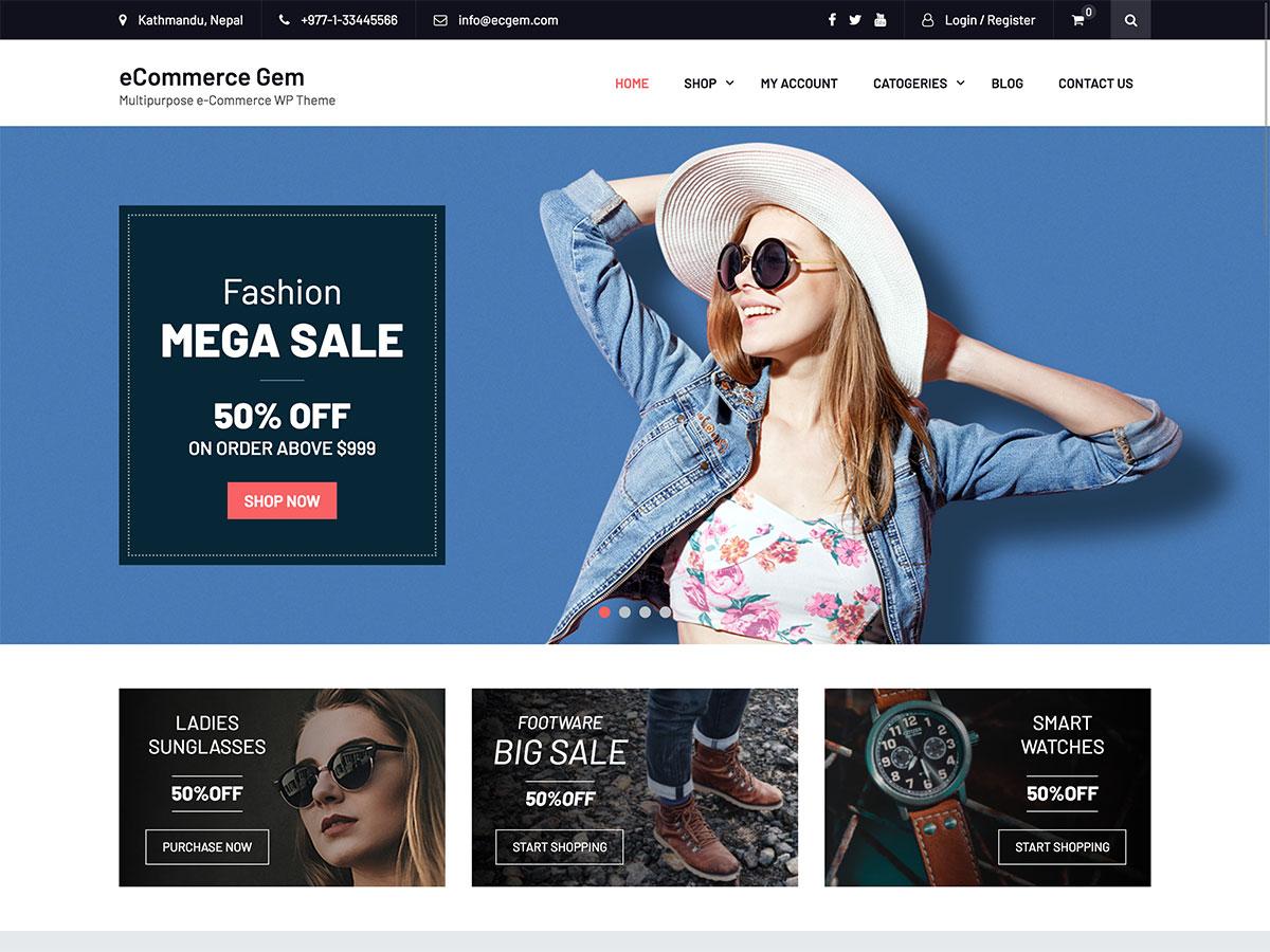 30 Best Free Ecommerce Wordpress Themes 2020 Athemes
