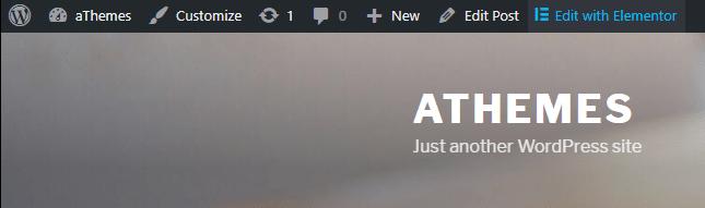Edit Link in WordPress Admin Bar