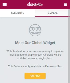 Meet Our Global Widget