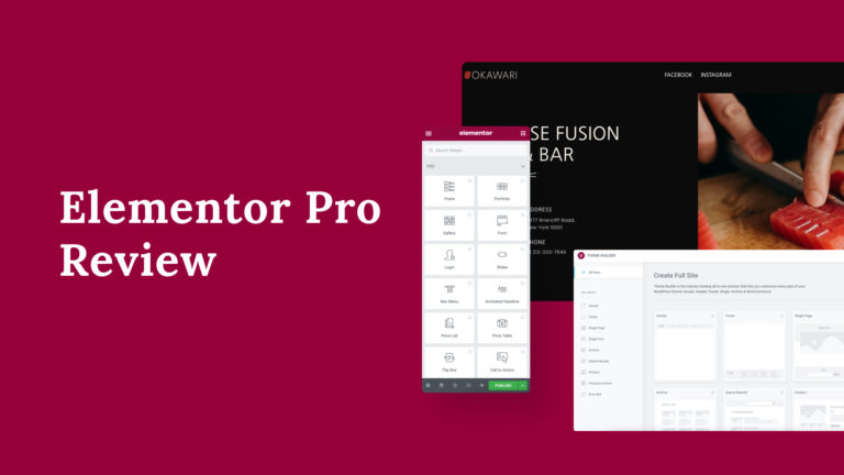 Elementor Pro Review, featured image