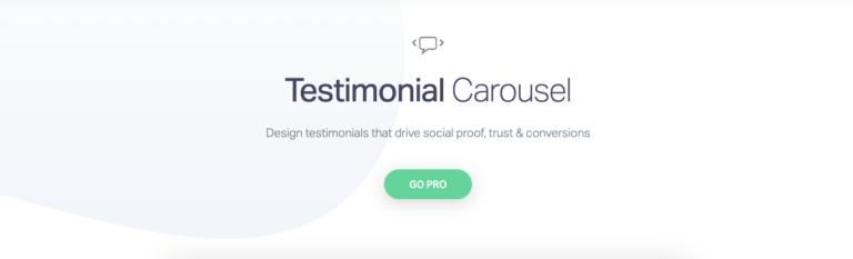Elementor Testimonial Carousel Pro upgrade