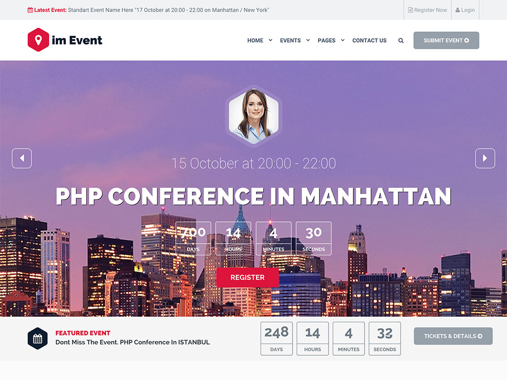 25 Best Events Wordpress Themes 2021 Athemes