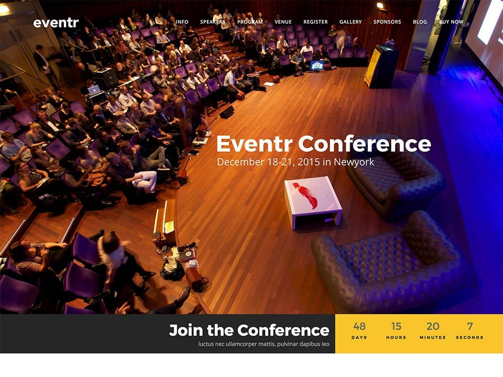 eventr-wordpress-theme