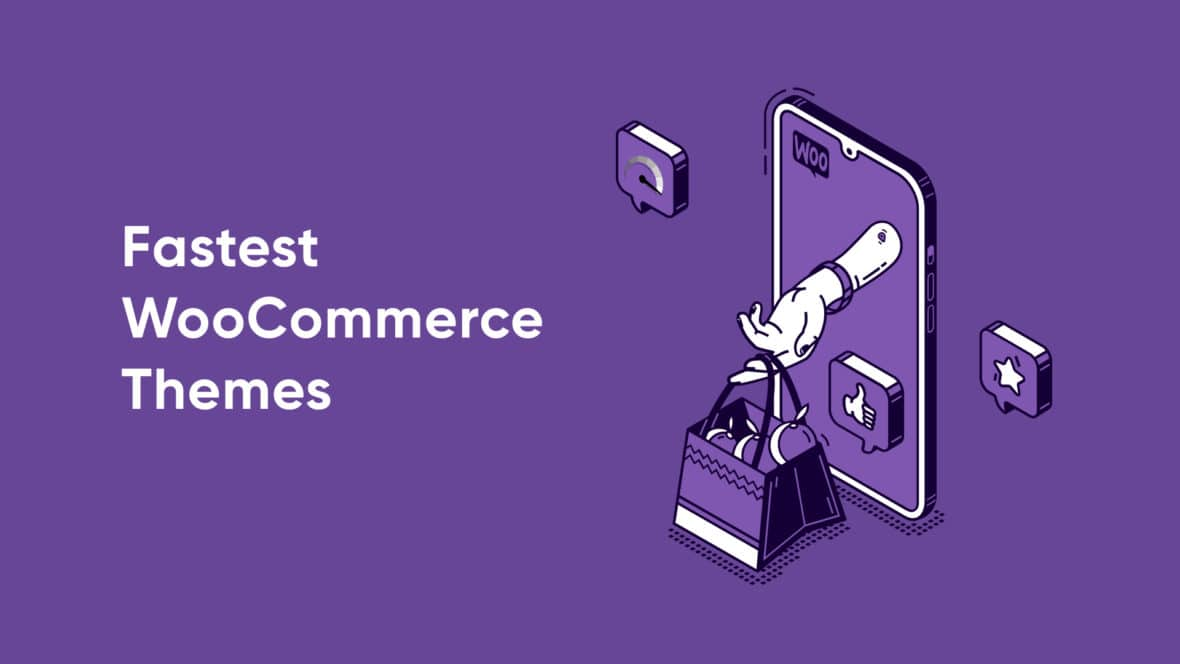 Fastest WooCommerce Themes, featured image
