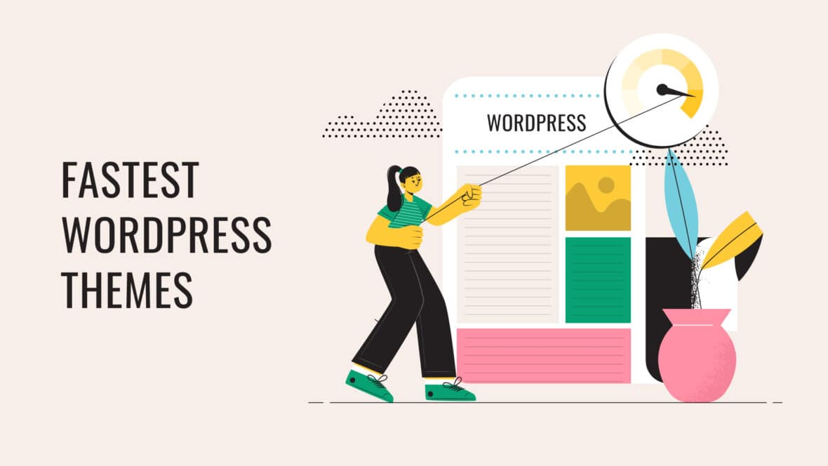 The Fastest WordPress themes, featured image