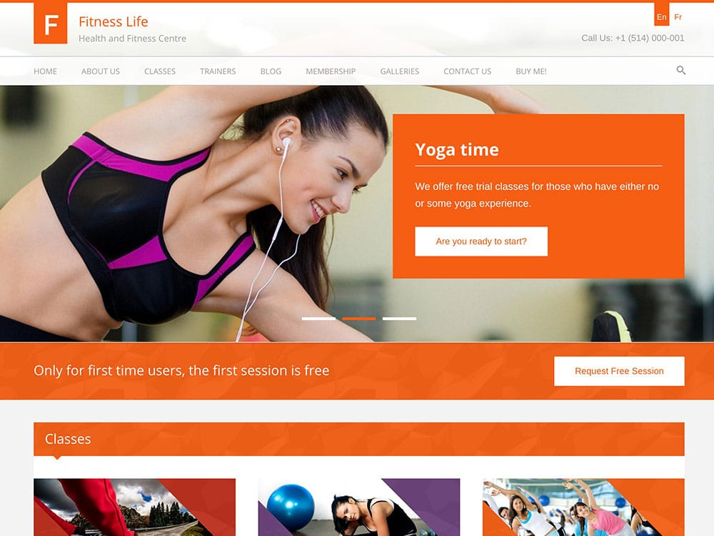 25 best wordpress fitness themes 2016 athemes for Wordpress design
