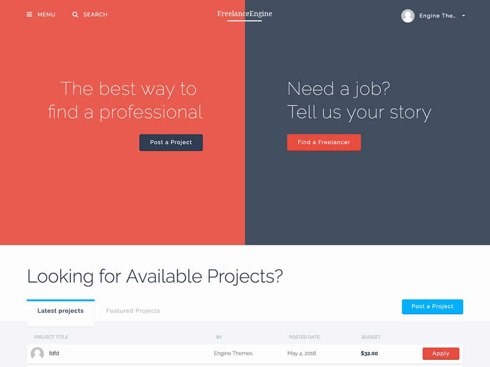 freelanceengine-freelance-marketplace-theme