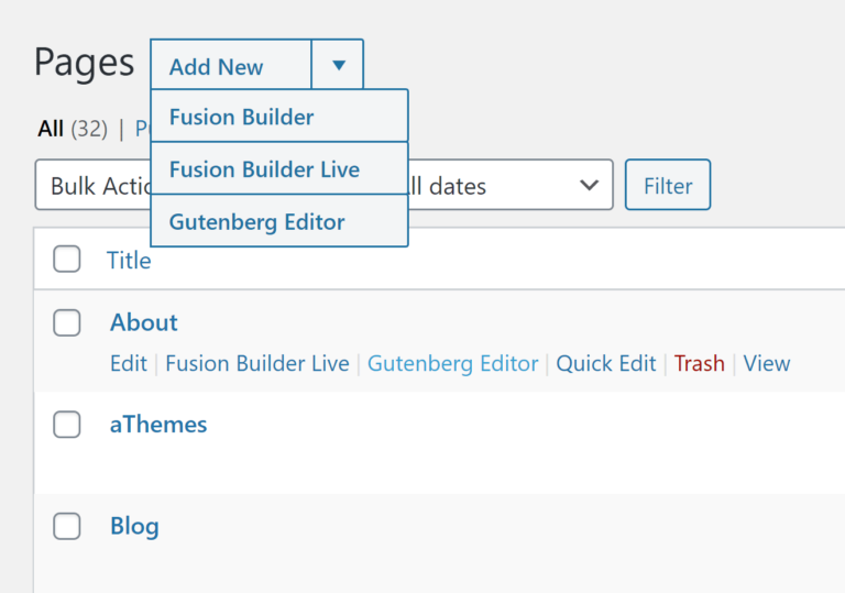 Adding New Content in Fusion Builder