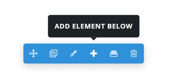 Add Element Below