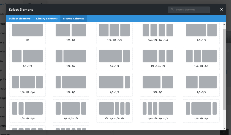 Fusion Builder Nested Columns