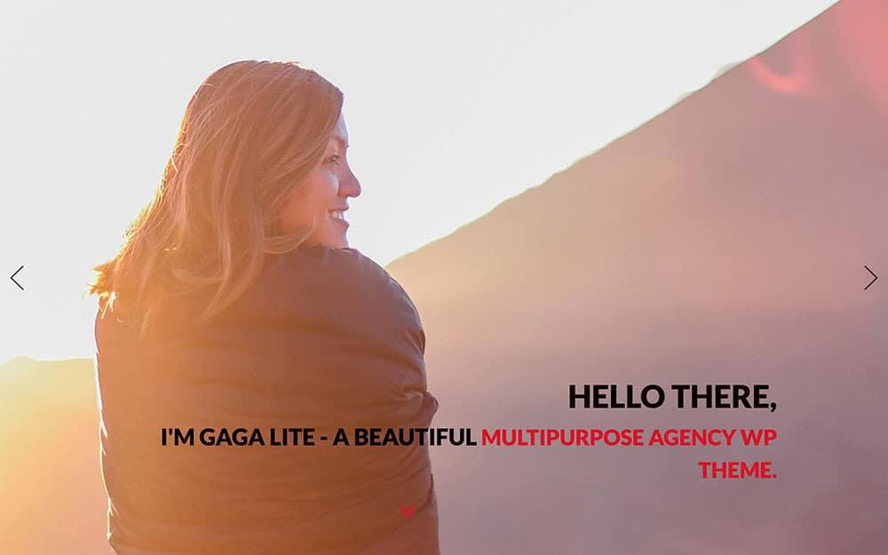 gaga-lite-wordpress-theme