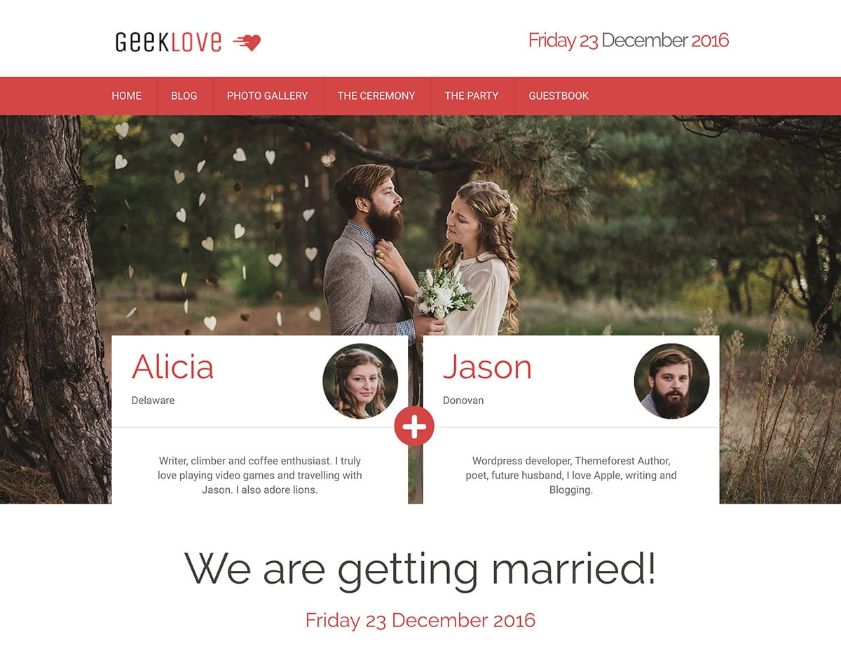 geeklove-wordpress-wedding-theme
