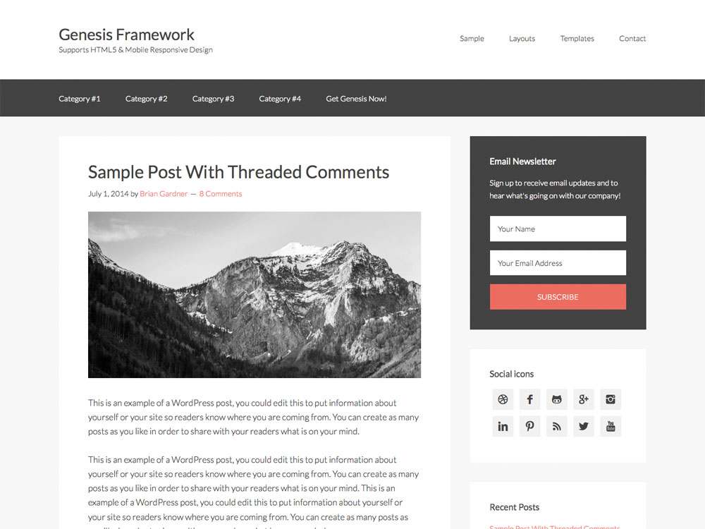 14 Best WordPress Theme Frameworks 2018 - aThemes
