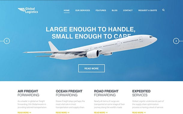 global-logistics-theme