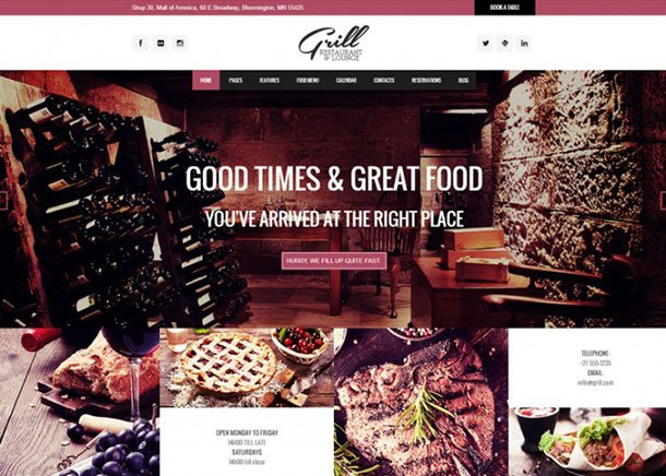grill-wordpress-theme