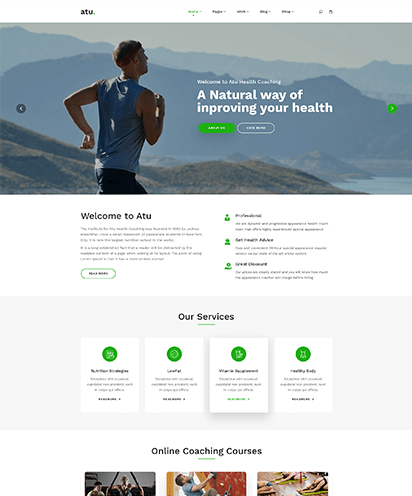 Health Coach template demo
