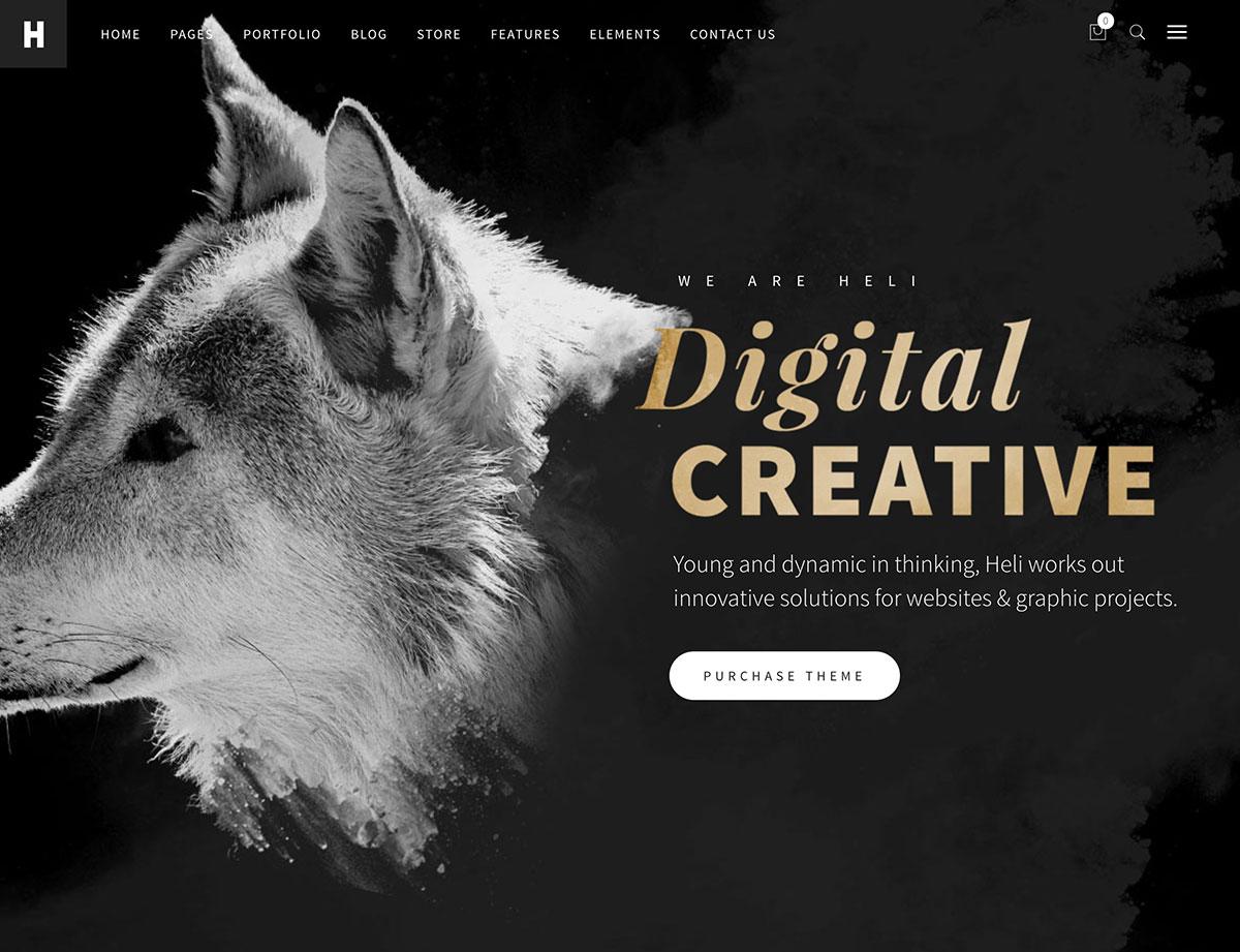 heli-creative-wordpress-theme